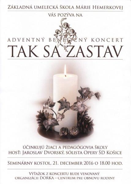Adventný benefičný koncert
