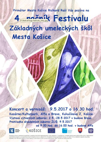 4. ročník Festivalu Základných umeleckých škôl
