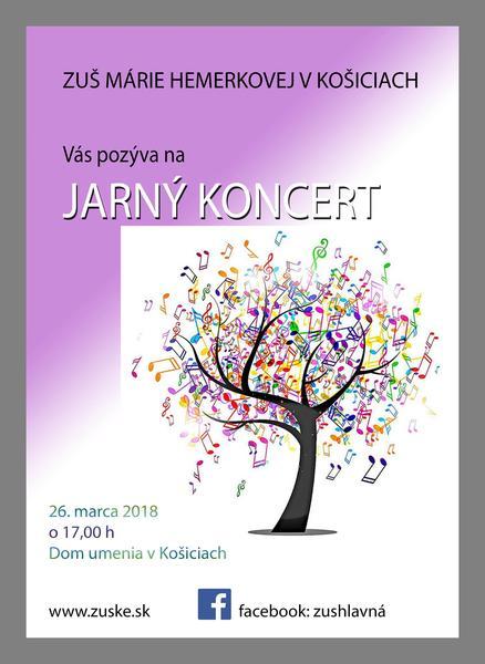 Plagát Jarný koncert