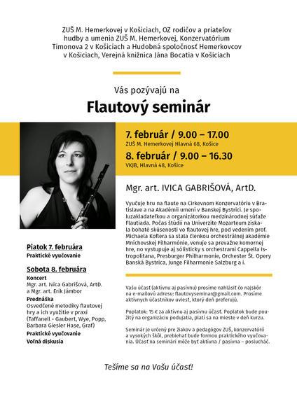 Flautový seminár