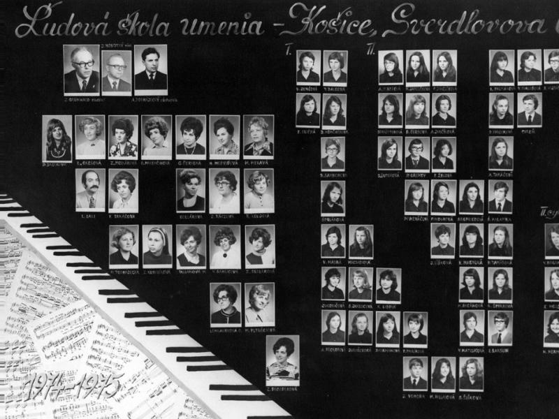 Tablo: 1974 - 1975 (1.)
