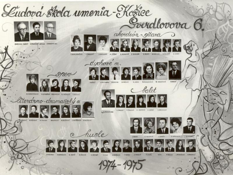 Tablo: 1974 - 1975 (2.)