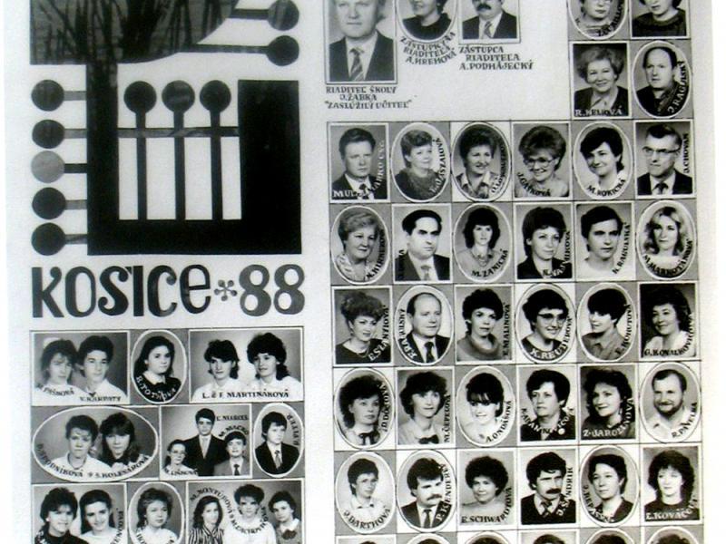 Tablo: 1987 - 1988