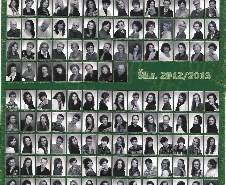 Tablo: 2012 - 2013